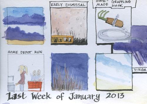 last week of january by Bricoleur's Daughter