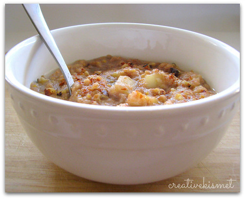 Apple Cinnamon Hot Cereal Recipe