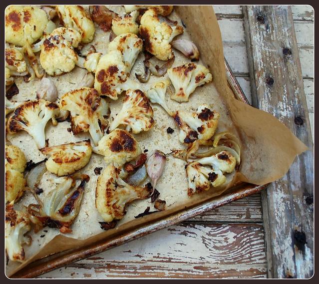 Roasted Parmesan Cauliflower RI