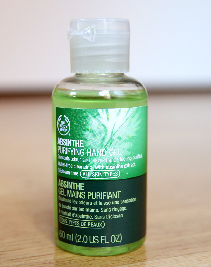TBS absinthe purifying hand gel