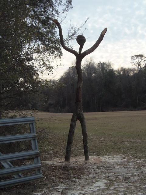 Wood man at Gary Rampley place