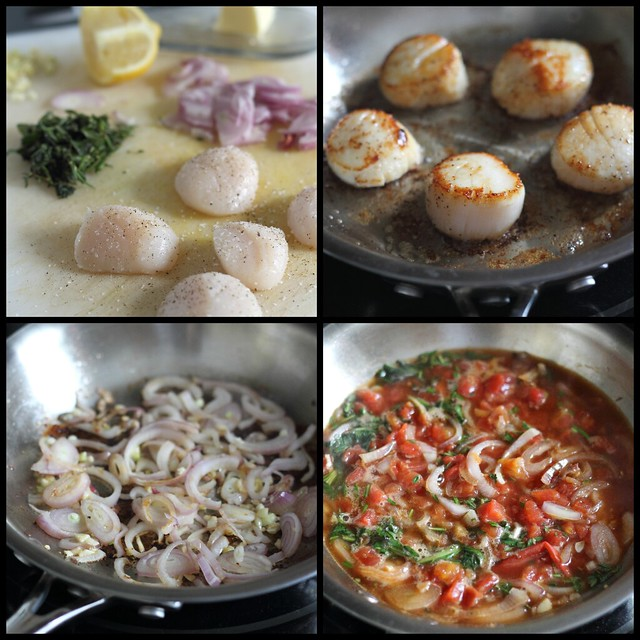 easy scallop recipe
