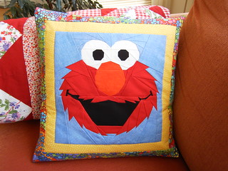 Elmo-pillow