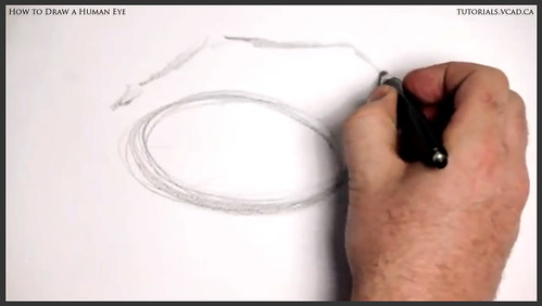 learn how to draw a human eye 002