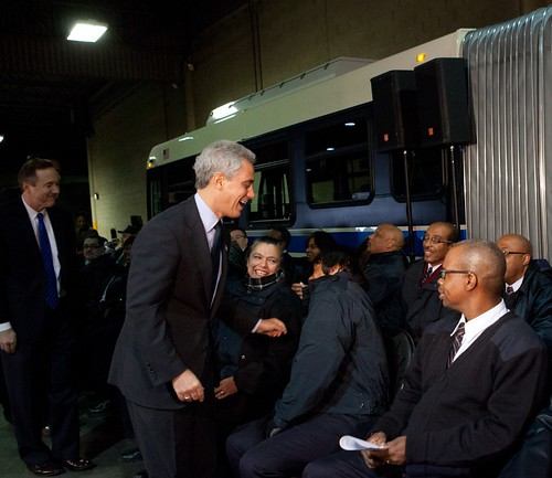 Mayor Emanuel Welcomes the Newest Graduating Class of CTA Bus Drivers