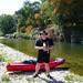 Me, Kayaking On The Gard by Goldfishrok