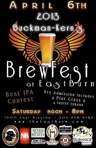 2013 Buckman-Kerns Brewfest @ East Burn
