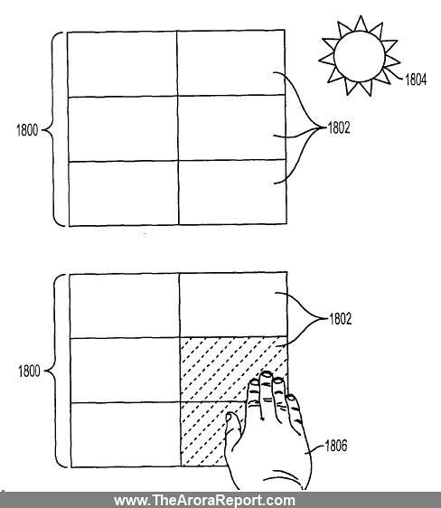 Это означает, что сенсорный экран iPhone или iPad может также выступать в качестве солнечной панели