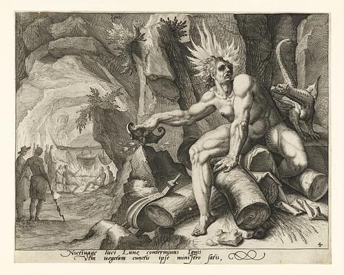 020-El elemento de fuego, el Jacob Gheyn (II), 1588-Rijksmuseum API Collectie
