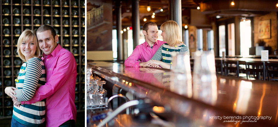 Grand Rapids Brewing Company Engagement Session