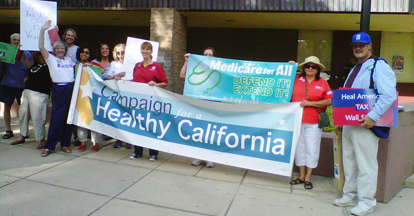 Nurses, Health Care Activists to Protest Health Insurance Industry in Sacramento