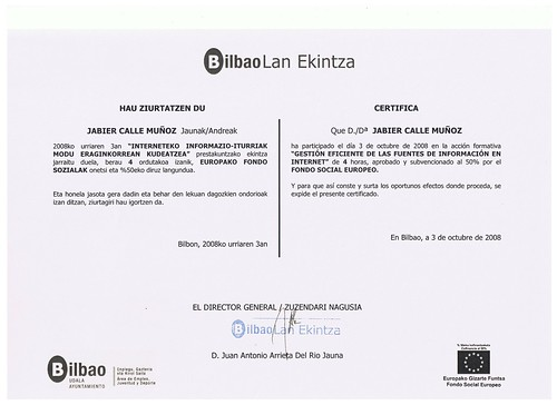 DIPLOMA GESTION INTERNET by LaVisitaComunicacion
