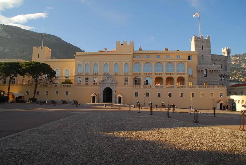 Prince's Palace at Monaco
