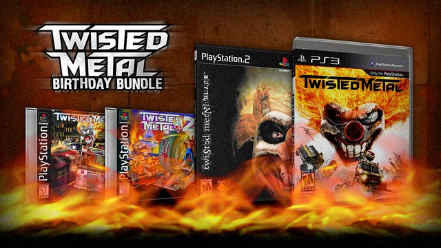 Twisted Metal Birthday Bundle