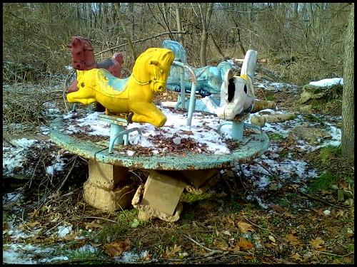 Abandoned Playground Toy