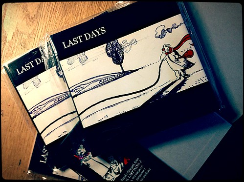 Last days-mauro carac-graphic novel
