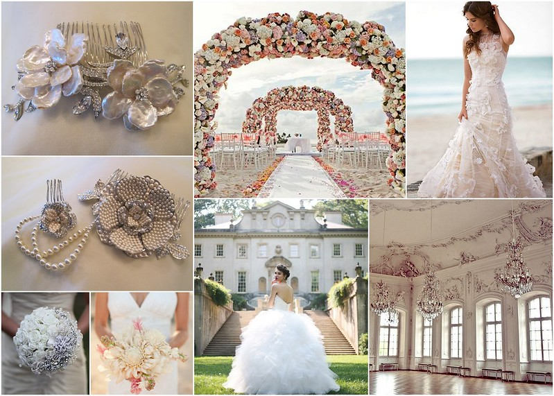 Pearl Bridal Hair Combs - Beach to Ballroom