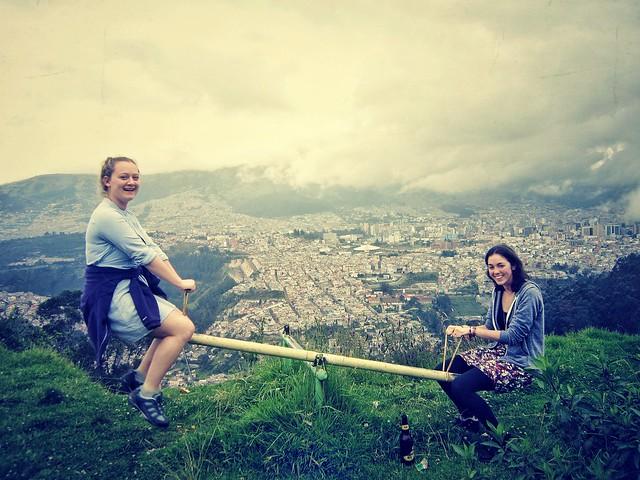 Playground above Quito