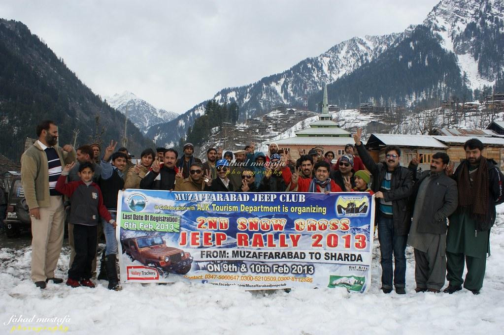 Muzaffarabad Jeep Club Neelum Snow Cross - 8470872757 b93a2def06 b