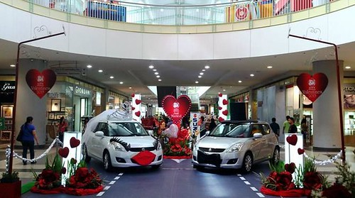 SM City Batangas Valentines Display 3