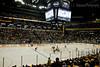 Face-off at Center Ice - Bridgestone Arena, Nashville, TN