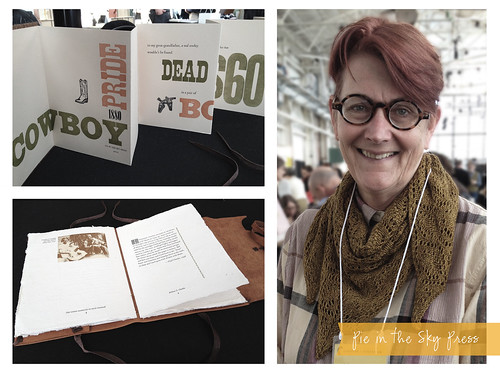Codex International Book Fair: Rebecca Chamlee