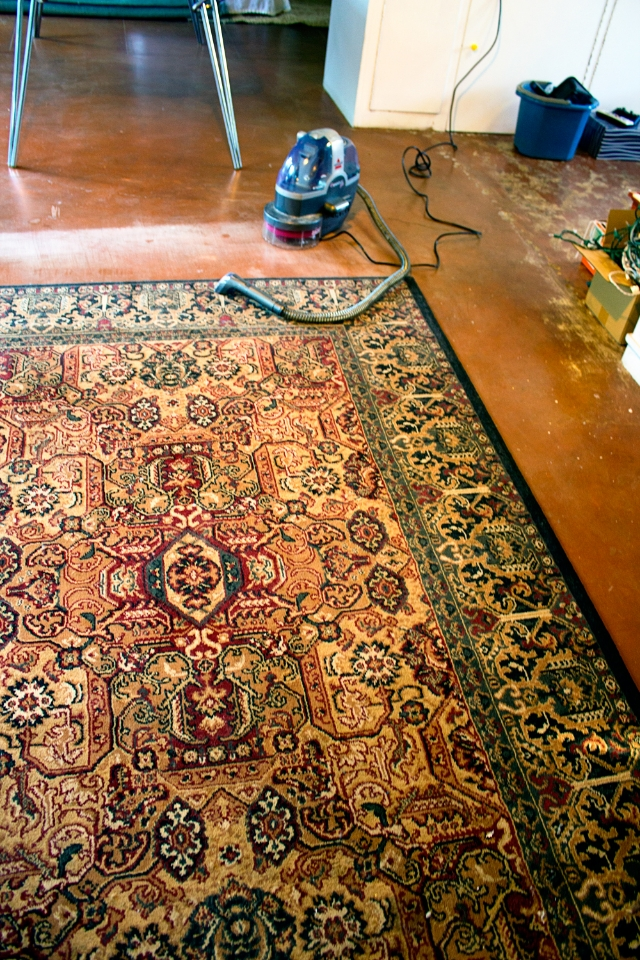 Early Spring Clean and Rug Switcharoo