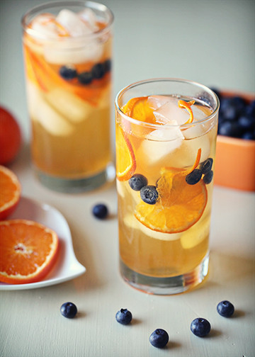 Blueberry Tangerine Tea