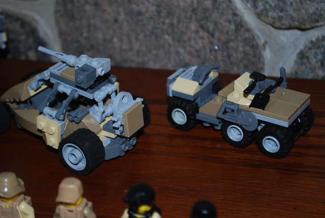 Lego australian military dune buggy and atv rear view flickr photo