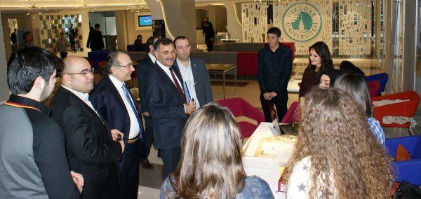 Üsküdar Belediye Başkanı Kara, Rektör Tarhan'ı ziyaret etti… 3