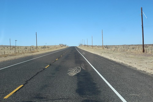 Day 194: Leaving the Marfa, Texas for New Mexico.