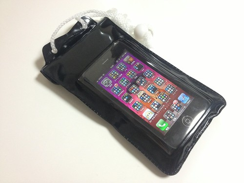 iPhone5収納