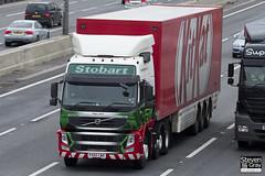 Volvo FM 6x2 Tractor - PX60 CWD - Pippa Jane - Eddie Stobart - M1 J10 Luton - Steven Gray - IMG_2422