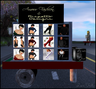 Fabulously Free in SL - Amour Fashion & Rispetto Design @ The Wash Cart Sale