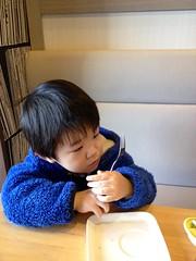 モスカフェで朝御飯 2013/2/21