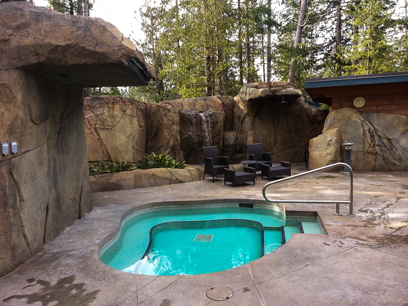 Painted Boat Resort Spa Waterfall Hot Tub