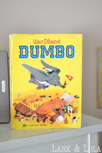 Vintage 1950s Dumbo book