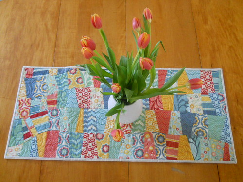 Salt air table runner