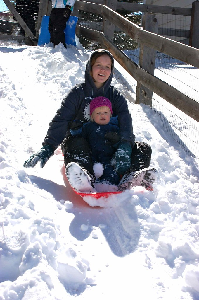 girls sled