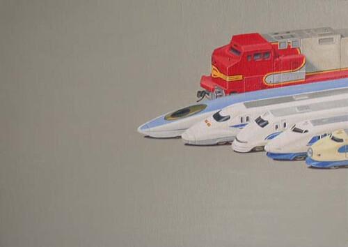 Jeremy Dickinson, BNSF & Shinkansen History, 2003