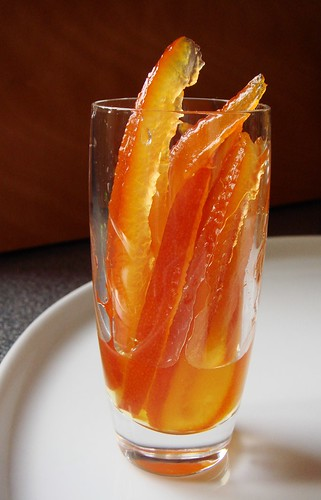 Candied Seville Orange Peels