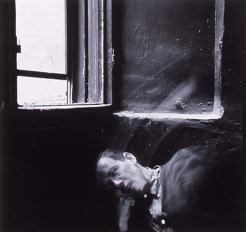 Meatyard, Ralph Eugene (1925-1972) - 1964 Man's Head Underneath Window by RasMarley