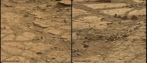 CURIOSITY sol 137 e sol 198 a confronto