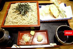 Tenzaru Soba (Cold Buckwheat Noodles With Tempura)