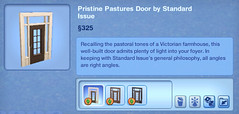 Pristine Pastures Door by Standard Issue