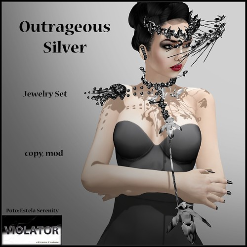 Violator-Outrageous Silver (Available at Relay for Life Event)
