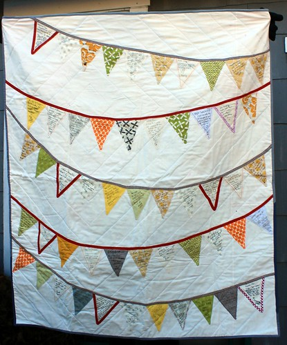 Bunting Wedding Signature Quilt