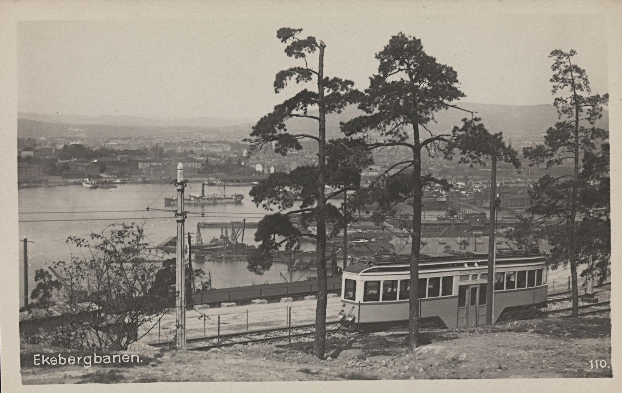 Ekebergbanen, ca 1922