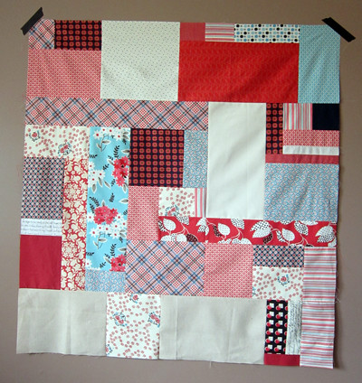 and then... a quilt top.
