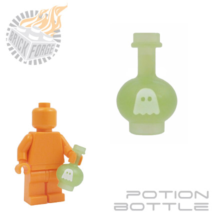 Potion Bottle - Glow in the Dark (Ectoslime)
